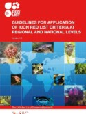 Guidelines for Application of IUCN Red List Criteria at Regional Levels: Version 3.0