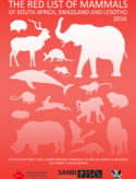 The Red List of Mammals of South Africa, Swaziland and Lesotho 2016