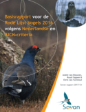 Rode Lijst Vogels 2016 volgens Nederlandse en IUCN-criteria (Red List of Birds 2016 according to Dutch and IUCN criteria)